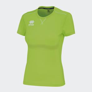 Erreà Women's Marion Training Shirt – Green Fluro