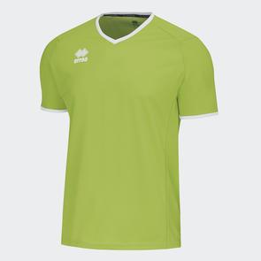 Erreà Lennox Shirt – Green-Fluro/White