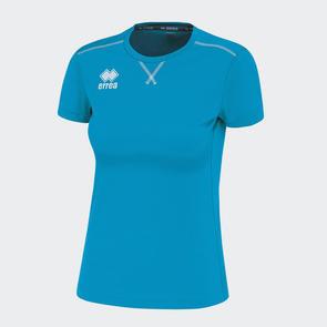 Erreà Women's Marion Training Shirt – Cyan