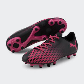 Puma Junior Spirit III FG – Pink/Black