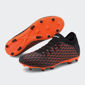 Puma FUTURE 6.4 FG/AG - Black Pack – Black/White/Orange