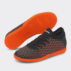 Puma Junior FUTURE 6.4 IT – Black/White/Orange