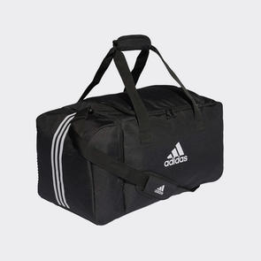 adidas Tiro Duffle Medium – Black/White