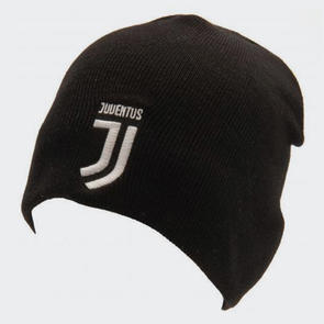 Juventus Knitted Hat – Black