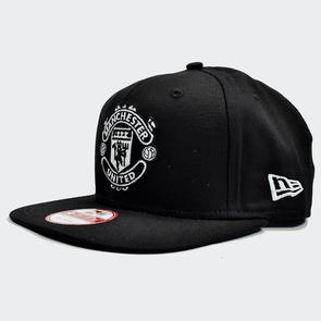 Manchester United New Era 9Fifty Snapback Youth Cap – Black/White