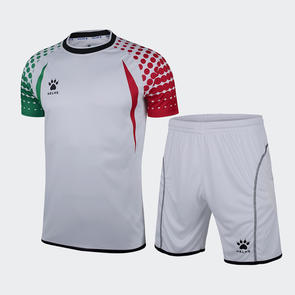 Kelme Salva Short Sleeve GK Set – White/Red/Green