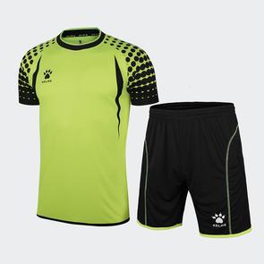 Kelme Salva Short Sleeve GK Set – Neon Yellow