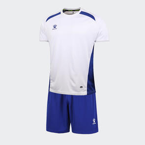 Kelme Academia Jersey & Short Set – White/Royal-Blue