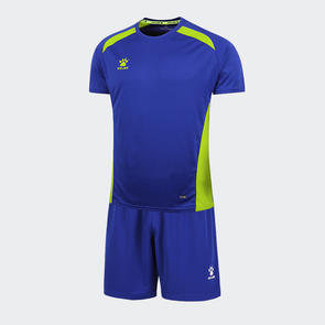 Kelme Academia Jersey & Short Set – Royal Blue/Neon Green