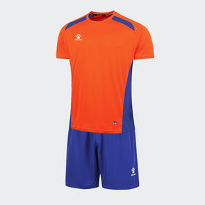 Kelme Academia Jersey & Short Set – Orange/Royal-Blue