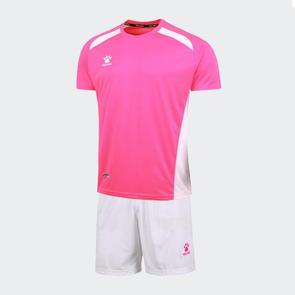 Kelme Academia Jersey & Short Set – Neon Pink/White