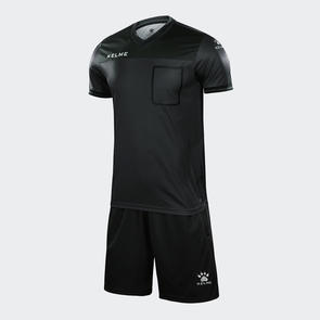 Kelme Arbitro Short Sleeve Referee Set – Dark-Grey/Black
