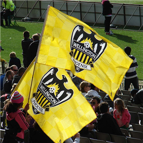 Wellington Phoenix Mega Flag