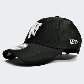 Manchester United New Era Hex Devil 9Forty Baseball Cap – Black