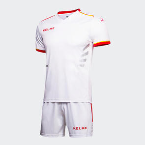 Kelme Moda Jersey & Short Set – White/Red