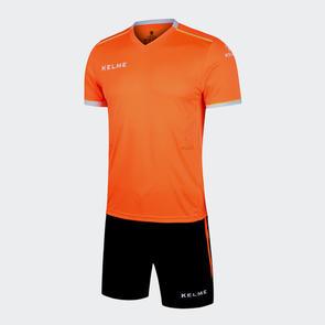 Kelme Moda Jersey & Short Set – Neon-Orange/White