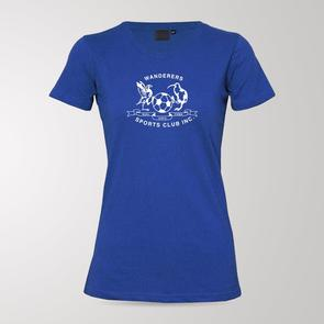 TSS Women's Hamilton Wanderers Blue Army Tee – Blue