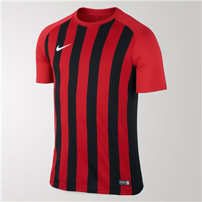 Nike Junior Inter Stripe Jersey – Red/Black