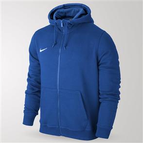 Nike Junior Team Club Full-Zip Hoodie – Blue