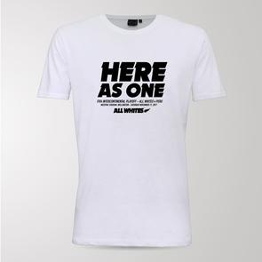 All Whites HERE AS ONE – Intercontinental Playoff Supporter Tee