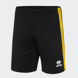 Erreà Bolton Short – Black/Yellow