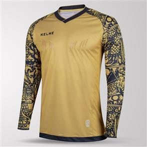 Kelme Junior Guardameta Long Sleeve GK Jersey – Gold