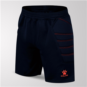 Kelme Junior Corto GK Shorts – Navy/Neon-Orange