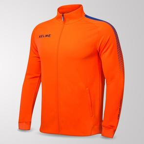 Kelme Estadio Training Jacket – Neon-Orange/Royal-Blue