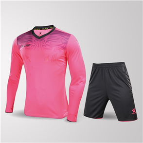 Kelme Guardia Long Sleeve GK Set – Pink/Grey