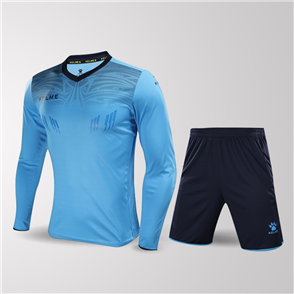 Kelme Guardia Long Sleeve GK Set – Sky-Blue/Navy