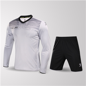 Kelme Guardia Long Sleeve GK Set – Light-Grey/Black