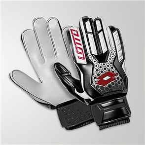 Lotto Spider 800 GK Gloves – White/Black/Red