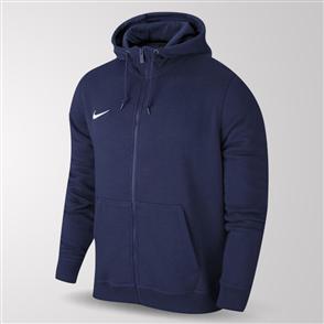 Nike Team Club Full-Zip Hoodie – Obsidian