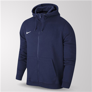 Nike Junior Team Club Full-Zip Hoodie – Navy