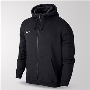 Nike Team Club Full-Zip Hoodie – Black