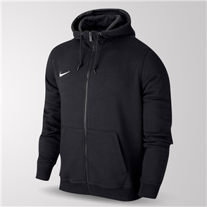 Nike Junior Team Club Full-Zip Hoodie – Black