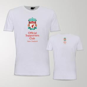 TSS Official LFC Supporters Club of NZ Tee – White