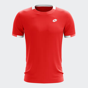 Lotto Squadra Training Tee – Red