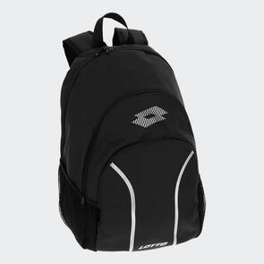 Lotto Delta Plus Backpack – Black/Silver