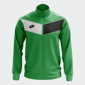 Lotto Junior L73 Wind Jacket – Emerald/White/Black