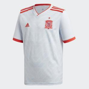 adidas Junior 2018-19 Spain Away Shirt