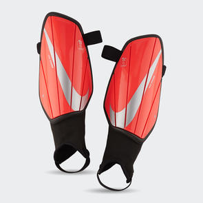 Nike Charge Shin Guards – Crimson/Platinum
