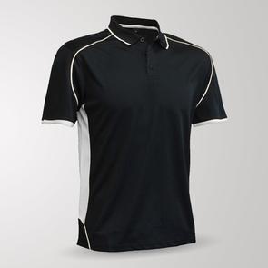 TSS Matchpace Polo – Black/White