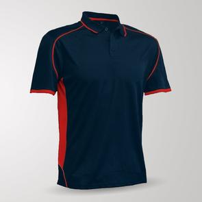 TSS Matchpace Polo – Navy/Red