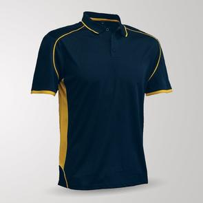 TSS Junior Matchpace Polo – Navy/Yellow