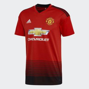 adidas 2018-19 Manchester United Home Shirt