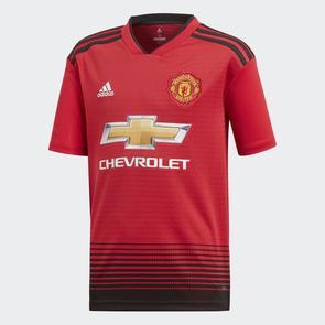 adidas Junior 2018-19 Manchester United Home Shirt