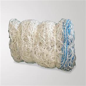 Kiwi FX Set of 2 Full Size Goal Nets (7.32m x 2.44m)