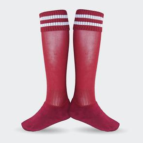 TSS Football Sock – Red/White