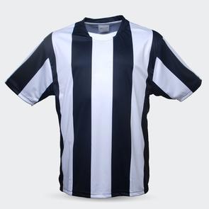 TSS Junior Striped Jersey – Black/White